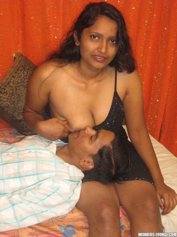 Real Indian Mom Son Se